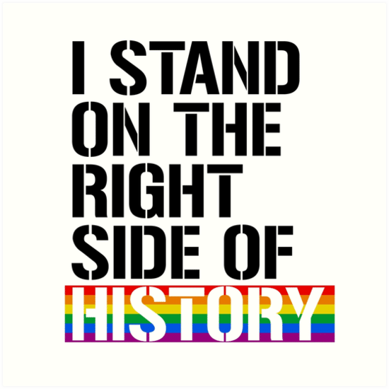 "Three Reasons Why Only Christians Should Use the Phrase ""The Right Side of History!""[1]"