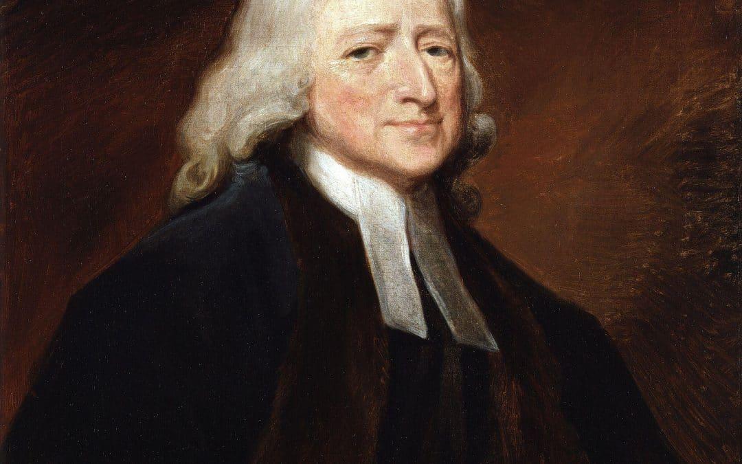 "John Wesley, ""No Half Christian"""