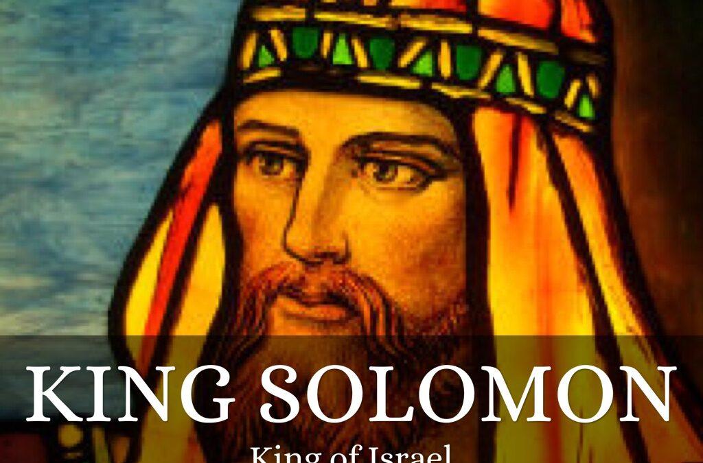 Is Your Wisdom Solomon's or Christ's?
